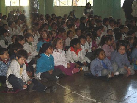 El teatro nos visita en la escuela